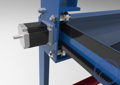 CNC Gantry Drive Mechanism