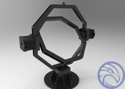 2 Axis Gimbal for Aerospace / TV & Movie Audio Video